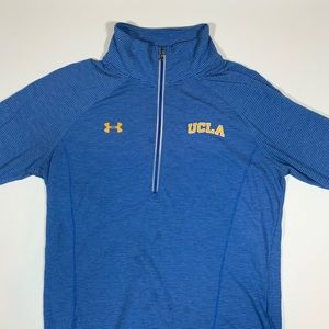Under Armour UCLA Half Zip Athletic Sweater EUC